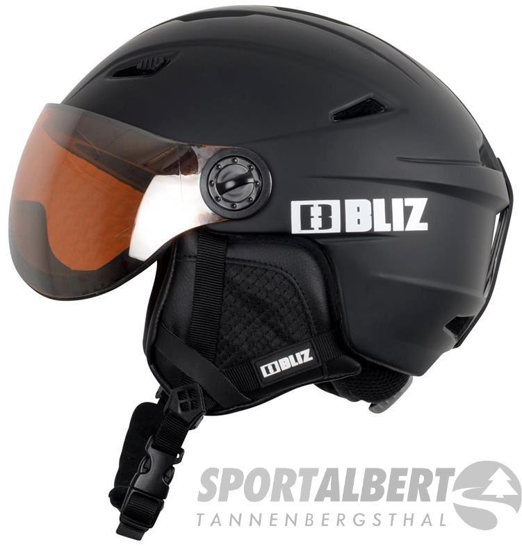Bliz Helmet Strike Black » SportAlbert.de 55cd315235c
